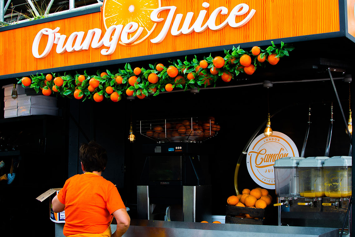 Orange Juice Bar