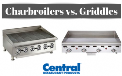 Charbroiler vs. Griddle