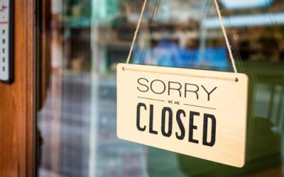 Closing Up Shop in the Face of the Coronavirus