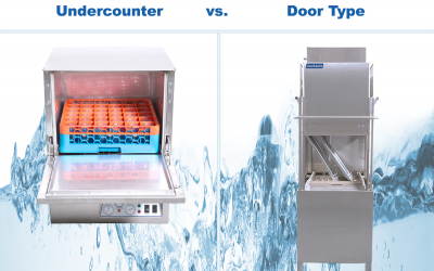 Undercounter vs. Door Type vs. Conveyor Dishwashers