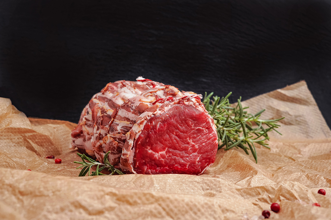 Meat on Parchment Paper