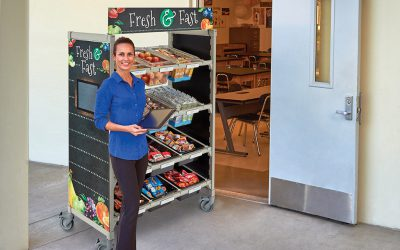 Grab-N-Go: School Solutions for Safe Serving, Portable Meal Programs, and A-La-Carte Upsells