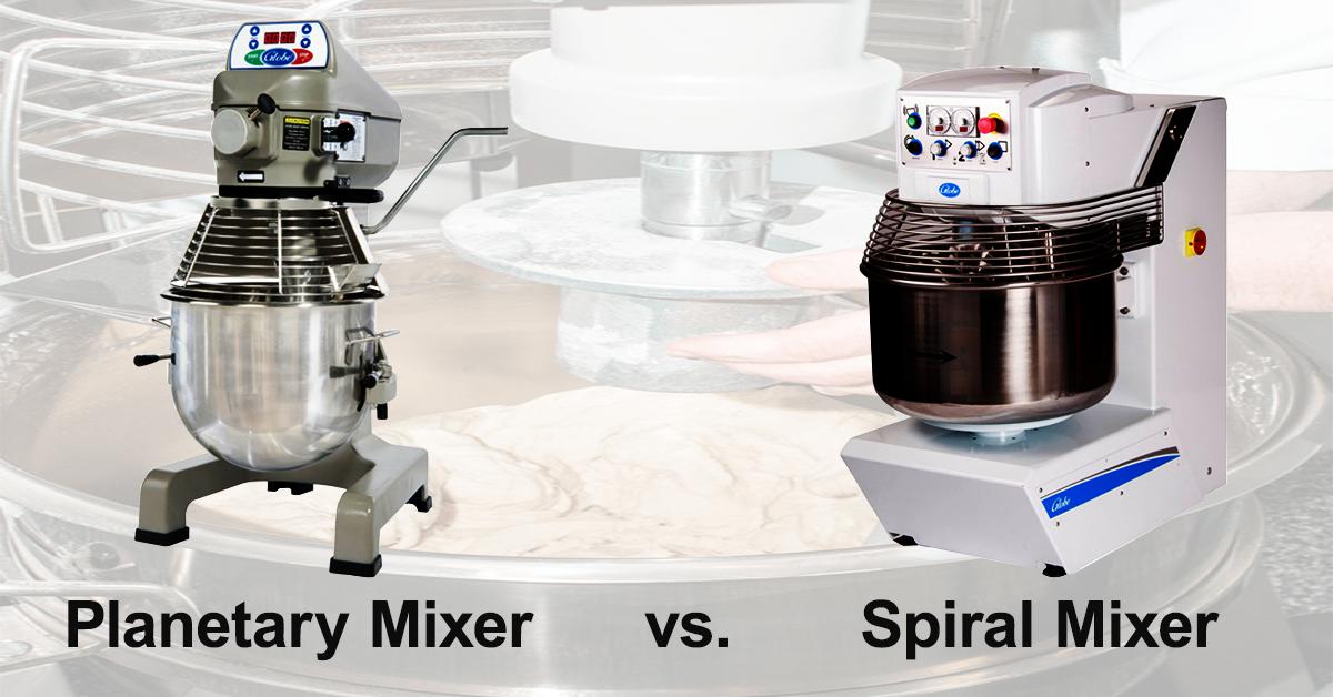 Planetary Mixers vs. Spiral Mixers