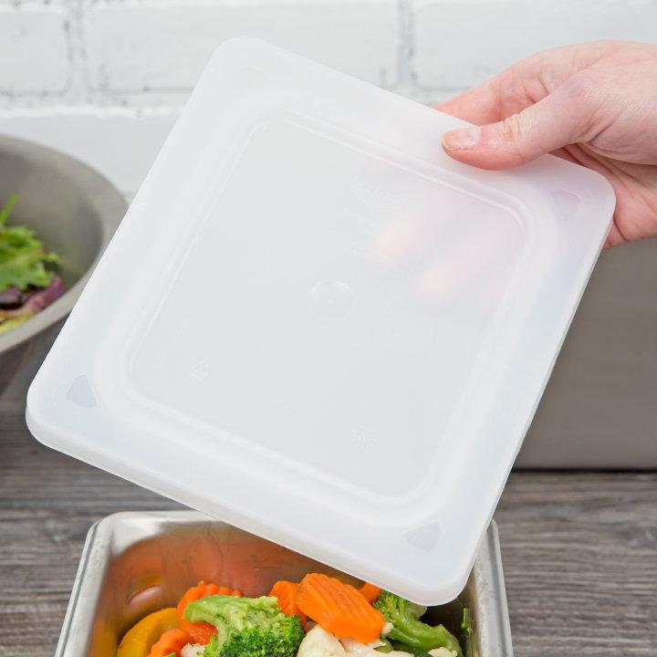 Flexible Pan Lid for Vollrath Super Pan 3 Food Pans